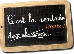 Rentree scoute